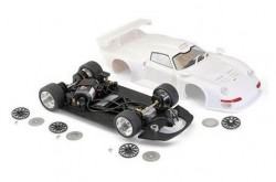 PORSCHE 911 GT1 - Full white kit with Aluminum preassembled chassis - BRM MODEL CARS - BRMBRM047-K