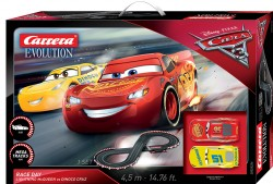 Disney/Pixar Cars 3 - Take Off - Ligthning McQueen vs Cruz Ramirez - CARRERA - CRR20025226