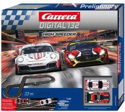 High Speeder - Porsche 911 GT3 vs Mercedes AMG GT3 - m. 7,3 - CARRERA - CRR20030003