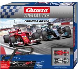 Formula Rivals - Vettel vs Hamilton - m 6,9 - CARRERA - CRR20030004