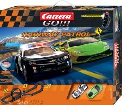 GO!!! - Highway Patrol - Camaro Sheriff vs Lamborghini Huracan - 5,4 m - CARRERA - CRR20062371
