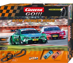 GO!!! - DTM Power Race - BMW M3 DTM vs Audi A5 DTM - 5,4 m - CARRERA - CRR20062389