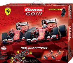 GO!!! - Red Champions - Scuderia Ferrari - 5,3 m - CARRERA - CRR20062394