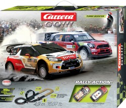 Rally Action - Citroen DS3 WRC vs Mini Countryman WRC - CARRERA - CRR20062434