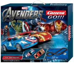 The Avengers - 3,6 m - CARRERA - CRR20062473