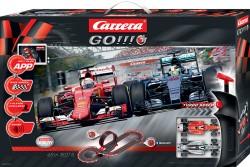 GO!!! Plus set - Flying Lap - Sebastian Vettel vs Lewis Hamilton - CARRERA - CRR20066002