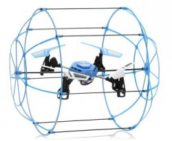 Quadcopter Sky Walker Climbing Wall UFO 2.4GHz 4 Channel 4-Axis - CTW - CTW1306