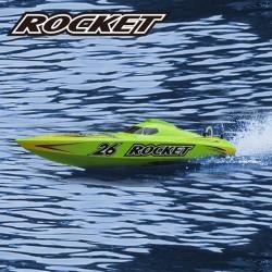 Rocket 2.4G RTR brushed, with 11.1V 1300mAh LiPo & 3S balance charger and DC adapter - JOYSWAY - JOY8601