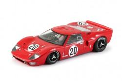 Ford GT40 #20 Red - Equipe Colegio Arte e Instruçao (BR) 1969-70 - SW Shark 20K - NSR - NSR0020SW