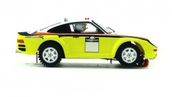 Porsche 959 Raid challenge YELLOW - Dakar chasis- - SCALEAUTO - SCASC-6090B