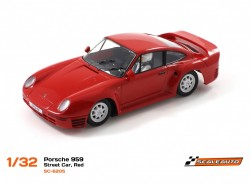 Porsche 959 street car red - SCALEAUTO - SCASC-6205