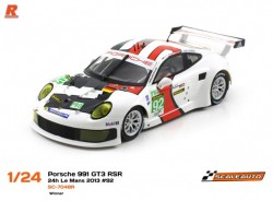 Porsche 991 RSR LM 2013 #92 Winner Team Manthey. SC-8003 GT3 - SCALEAUTO - SCASC-7048R