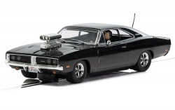Dodge Charger (gloss black) with blower - SCALEXTRIC - SCTC3936