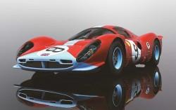 412P Daytona 1967 - SCALEXTRIC - SCTC3946