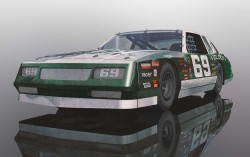 Chevrolet Monte Carlo 1986 No.69 (Green & White) [NEW TOOLING 2018] - SCALEXTRIC - SCTC3947