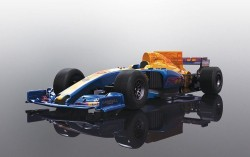 2017 Formula One Car - Blue [NEW TOOLING 2018] - SCALEXTRIC - SCTC3960