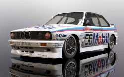 BMW E30 M3 1988 Peter Brock Bathurst #56 - SUPERSLOT - SCALEXTRIC - SCTH3929