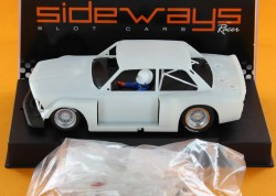 BMW 320 - White Kit SW41A type + front spoiler of SW41B - SIDEWAYS - SIDSWK-320A