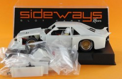 Ford Mustang Turbo white kit - SIDEWAYS - SIDSWK-FM