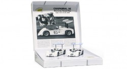 Can Am Winner Collection - Chaparral 2E n.65 1st, n.66 2nd Laguna Seca Can-Am 1966 - SLOT.IT - SITCW08