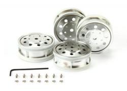 Plated R Wheels (22mm/Matte) - TAMIYA - TAM56518