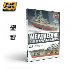 AKIAK-0650AK INTERACTIVEDVD WEATHERING GERMAN SHIPS (PAL)