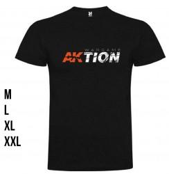 AKIAK-0902-3AK INTERACTIVEAKTION MAGAZINE MEN T-SHIRT XL