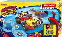 CRR20063030CARRERACarrera First Set - Mickey and the Roadster Racers - 2.9m with FLIPPERS & NARROW SECTION