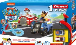 CRR20063031CARRERACarrera First Set - PAW PATROL - Track Patrol - 2.9m with FLIPPERS & NARROW SECTION