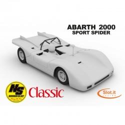 NNSC002NONNOSLOTAbarth 2000 White Kit