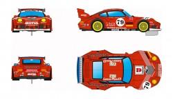 RVSRS0031REVOSLOTPorsche 911 GT2 - #79 Finacor
