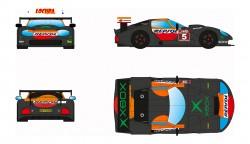 RVSRS0032REVOSLOTMarcos LM600 GT2 - #5 Repsol Xbox