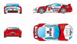 RVSRS0036REVOSLOTToyota Supra GT - #36 Marlboro