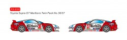 RVSRS0038REVOSLOTToyota Supra GT Marlboro Twin Pack #36 and #37