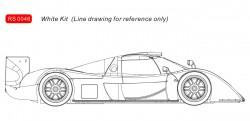 RVSRS0046REVOSLOTToyota GT-One White Kit