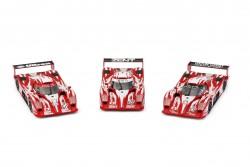 RVSRS0055REVOSLOTToyota GT-One - LM 1998 Triple Pack #27 - #28 - #29