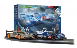 SCTC1404PSCALEXTRICARC PRO 24H Le Mans Set (2 x Ginetta's) - NEW TOOLING 2019