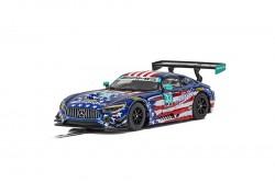 SCTC4023SCALEXTRICMercedes AMG GT3 - Riley Motorsports Team