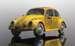 SCTC4045SCALEXTRICVolkwagen Beetle - Rusty Yellow