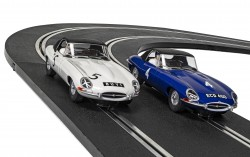 SCTC4062ASCALEXTRICJaguar E-Type - First Win 1961 Twin Pack