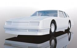 SCTC4072SCALEXTRICChevrolet Monte Carlo 1986 - White