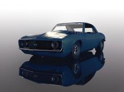 SCTC4074SCALEXTRICChevrolet ZL-1 Camaro - Dusk Blue