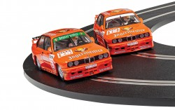 SCTC4110ASCALEXTRICBMW E30 M3 - Team Jagermeister Twin Pack