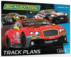 SCTC8334SCALEXTRICScalextric Track Plans Book (10th Edition)