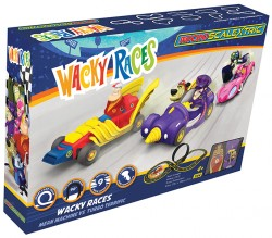 SCTG1142PSCALEXTRICMicro Scalextric Wacky Races (Mains Powered) - NEW TOOLING 2019
