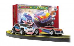 SCTG1149PSCALEXTRICMicro Scalextric Law Enforcer Mains Powered Race Set