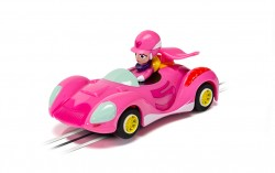 SCTG2166SCALEXTRICWacky Races Penelope Pitstop Car - NEW TOOLING 2019