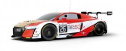 """SCXC10272X300SCXAudi R8 LMS GT3 """"TecSom"""